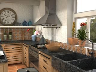 Pagnol Kitchen Blophome Cucina in stile rustico