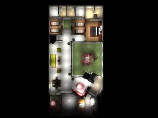 CASA BILBAO: Casas de estilo  por PUNTO A PUNTO ARQUITECTURA