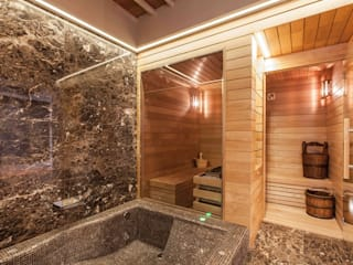 Sauna Finlandese : Spa in stile  di ki life  Wellness Operator