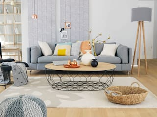 Living room by Homemate GmbH, Scandinavian