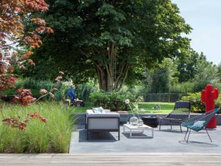 Familietuin: moderne Tuin door Vosselman Buiten