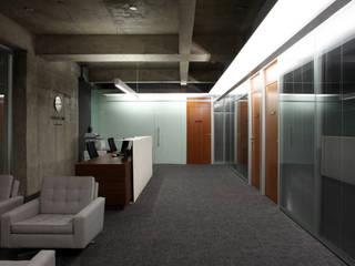 Espaces commerciaux modernes par Piratininga Arquitetos Associados Moderne