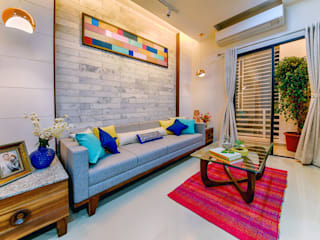 Saar Interior Design Living room Multicolored