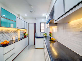 Saar Interior Design Kitchen Multicolored