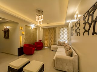 Home at Vishrantwadi Navmiti Designs Modern living room