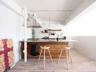 otokonoshiro Minimalist kitchen by nuリノベーション Minimalist