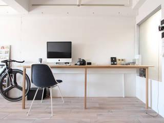 otokonoshiro Estudios y despachos de estilo minimalista de nuリノベーション Minimalista