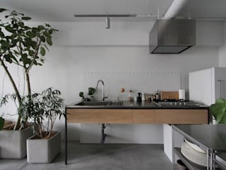 minimalistic Kitchen by nuリノベーション