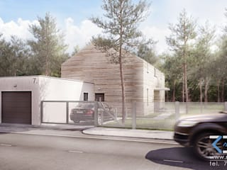 Modern Houses by RESE Architekci Biuro Projektowe Modern