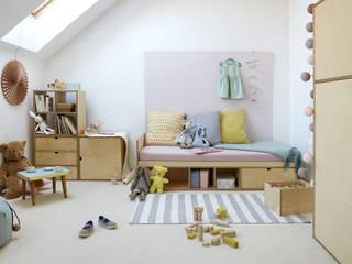 ŁÓŻKO KUBBIK/BED KUBBIK: styl , w kategorii  zaprojektowany przez FAM FARA