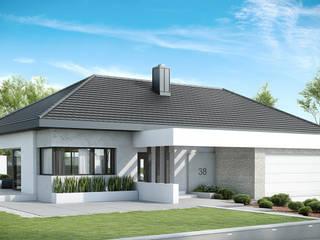 Modern home by HomeKONCEPT | Projekty Domów Nowoczesnych Modern