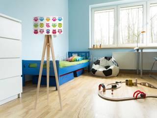 Lampa podłogowa Kolorowe Sówki: styl , w kategorii  zaprojektowany przez imoLight
