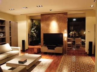 PISO EIXAMPLE Salones de estilo clásico de Tinda´s Project S.L. Clásico