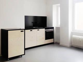 Maison du Bonheur Modern style kitchen
