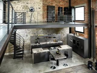 Nhà bếp phong cách công nghiệp bởi Schmidt Küchen Công nghiệp