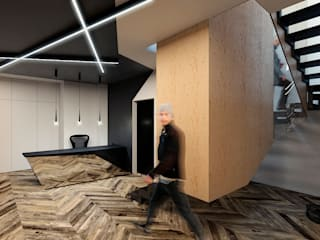 Grynevich Architects Office buildings Plywood Multicolored