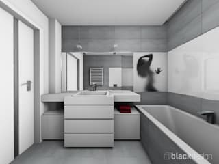 Minimalist style bathroom by black design Minimalist