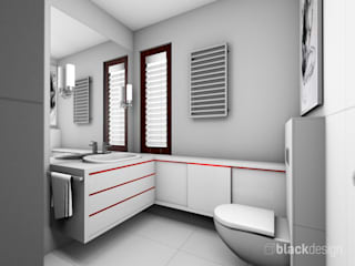 Modern bathroom by black design Modern