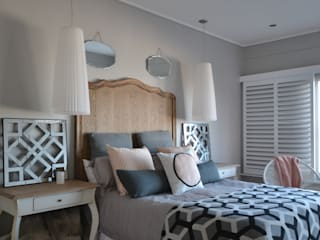 غرفة نوم تنفيذ Nieuwoudt Architects