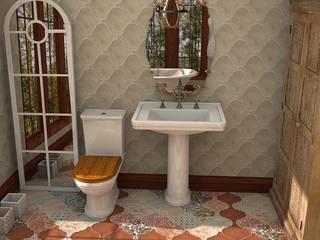 Nais! Bathroom: Baños de estilo clásico de Blophome