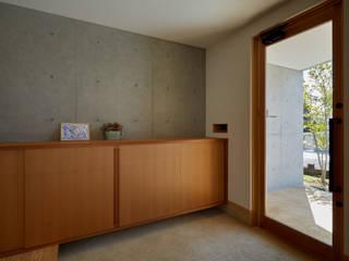 山里のいえ モダンスタイルの 玄関&廊下&階段 の toki Architect design office モダン 木 木目調