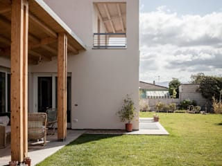 庭院 by Studio di Architettura Ortu Pillola e Associati, 地中海風