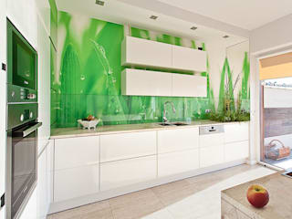 Dom Wrocław: styl , w kategorii Kuchnia zaprojektowany przez Monika Staniec Interior Design