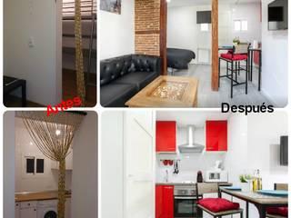 Reforma Integral de Vivienda 40 m2:  de estilo  de Fecofer, Proyectos y Reformas