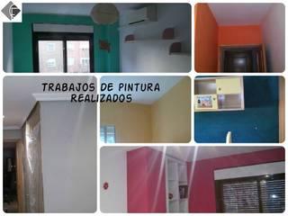 Pintura en Vivienda: Dormitorios de estilo  de Fecofer, Proyectos y Reformas