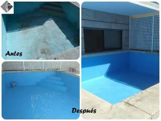 Arreglo de piscina:  de estilo  de Fecofer, Proyectos y Reformas