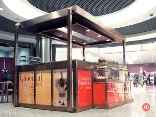 Quiosque de Café | Centro Comercial Campo Pequeno Espaços de restauração industriais por ARCHDESIGN LX Industrial