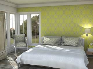 Bedroom dilemma Blophome Camera da letto moderna
