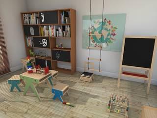 Playroom Blophome Stanza dei bambini moderna