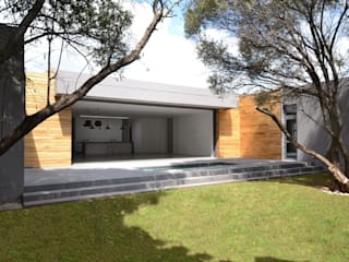 New residence Nieuwoudt Architects Scandinavian style houses Bricks