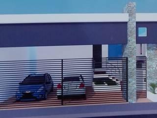 Fachada:  de estilo  por Habitat: diseño, mantenimiento y construcción.