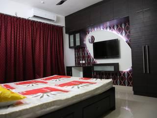 full home interior designers and decorators:   by Sai Decors,