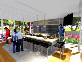 Cocinas de estilo moderno de AMIR SAMAD SHAFA Moderno