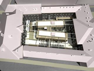 Urząd Miasta - rozbudowa: styl , w kategorii  zaprojektowany przez PA FORMAT