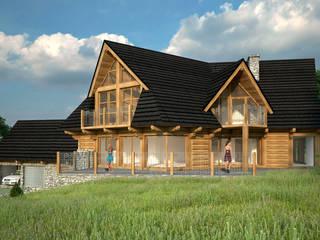 Budynek Mieszkalny jednorodzinny: styl , w kategorii Domy zaprojektowany przez Project Harmonia Pracownia Architektoniczna