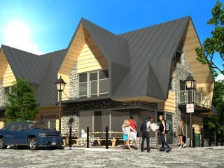 Houses by Project Harmonia Pracownia Architektoniczna, Modern