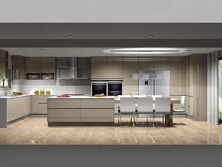Amplitude - Mobiliário lda Moderne keukens MDF Beige