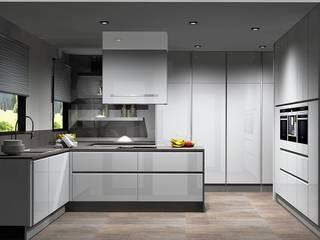 Amplitude - Mobiliário lda Cuisine moderne MDF Blanc