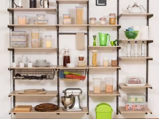 Cocinas de estilo  por Espacio al Cuadrado, Moderno
