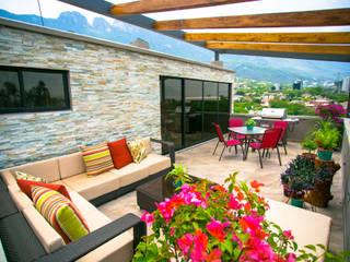 Terrazas de estilo  de ICAZBALCETA Arquitectura y Diseño, Moderno