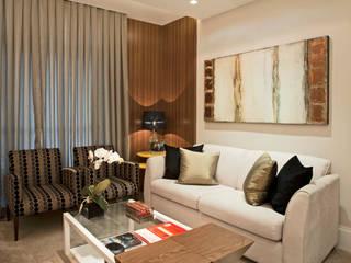Living: Salas de estar  por Andréa Spelzon Interiores