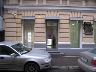 Салон-парикмахерская на Б. Козихенском переулке: Tерраса в . Автор – ANNA Prutskova/designer interiors