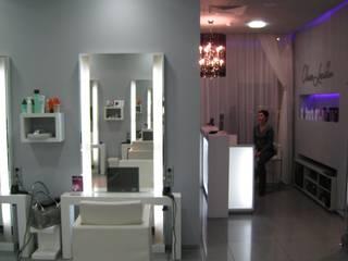 Салон-парикмахерская на Б. Козихенском переулке: Рабочие кабинеты в . Автор – ANNA Prutskova/designer interiors