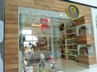 Mercatto Decorações: Lojas e imóveis comerciais  por PR+ Arquitetura