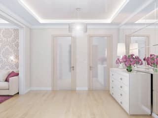 Klasyczny korytarz, przedpokój i schody od Ольга Рыбалка Klasyczny