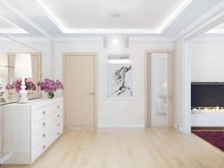 Pasillos, vestíbulos y escaleras clásicas de Ольга Рыбалка Clásico